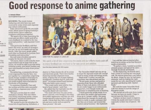 Anime Gathering 2012 Article